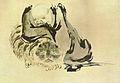 Patriarche et tigre (copie) d'après Shi Ke.jpg