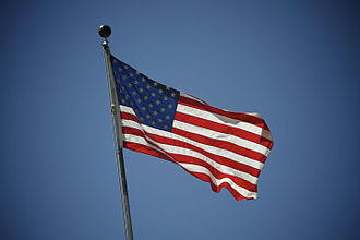 National identity - American flag as a national symbol.
