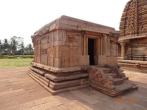 Pattadakal - Chandrashekhara temple.