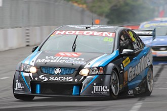 2014 Dunlop V8 Supercar Series - Paul Dumbrell won the series driving a Holden VE Commodore