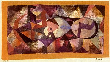 Ab ovo by Paul Klee