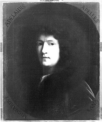 Paul Mignard - Image: Paul Mignard Self portrait