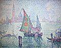 Paul signac, la barca a vela verde, 1904, 01.JPG