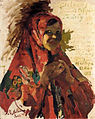 Peasant girl by F. Malyavin (1923).jpg