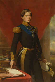 Pedro V, King of Portugal (1854) - Franz Xaver Winterhalter.png