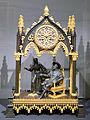 Pendule en bronze représentant François 1er et Marguerite de Navarre.jpeg