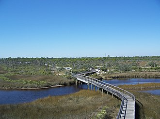 Big Lagoon State Park - Image: Pensacola FL Big Lagoon SP from obs tower 06