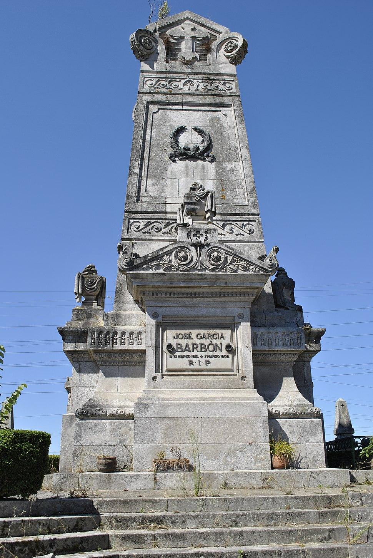 Pereiró, a José García Barbón, 1831 - 1909
