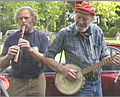 Pete Seeger & William Waterway jamming for water.jpg