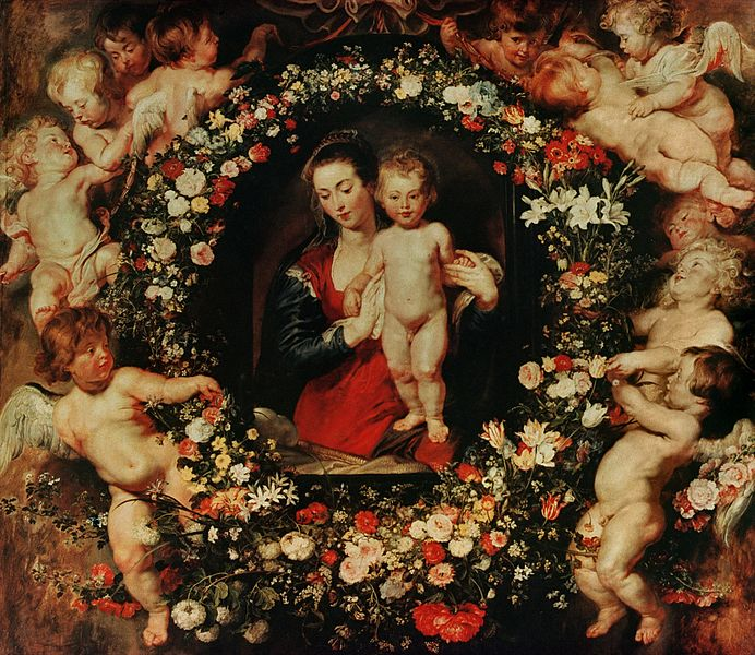 File:Peter Paul Rubens & Jan Brueghel de Oude - Madonna in een bloemenkrans.jpeg