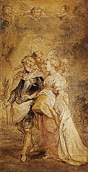 Peter Paul Rubens - The Marriage of Henri IV of France and Marie de Médicis - WGA20443.jpg