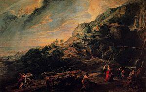 Peter paul rubens odisseas phaeacians adasında 1630 1635 palazzo