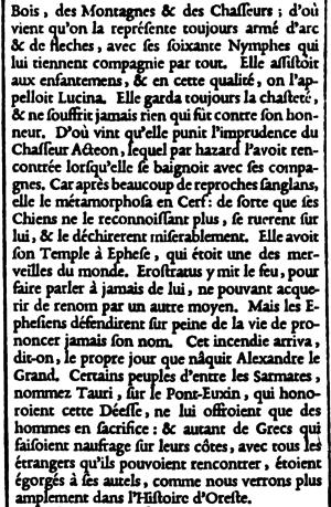 Claude Garamond - Image: Petite Texte from Épreuves générales des caracteres