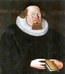 Portrait of Petter Dass