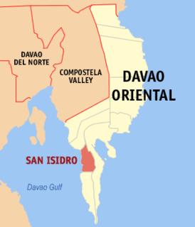 San Isidro, Davao Oriental Municipality in Davao Region, Philippines