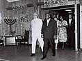 Philibert tsiranana - Yitzhak Ben-Zvi 1961.jpg