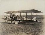 Philip Billard in Albin K. Longrens Number 6 Model G biplane.jpg