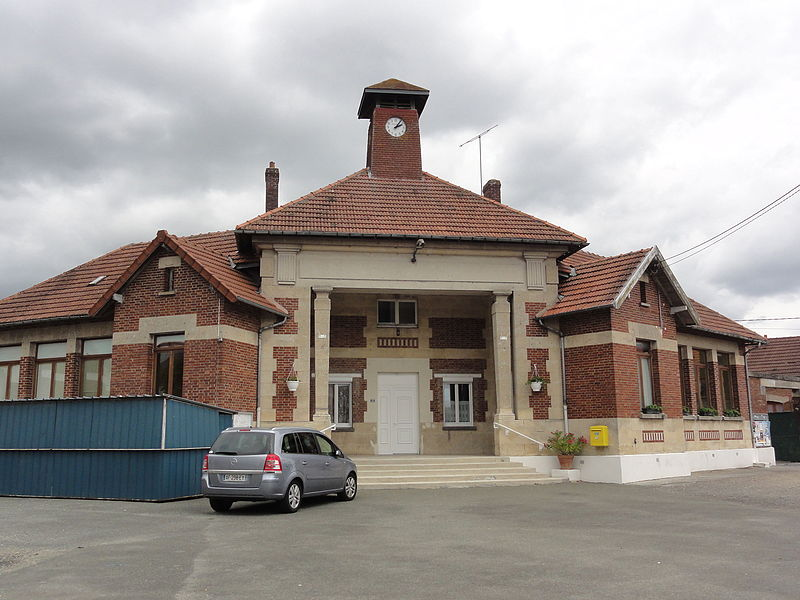 Pierremande (Aisne) mairie