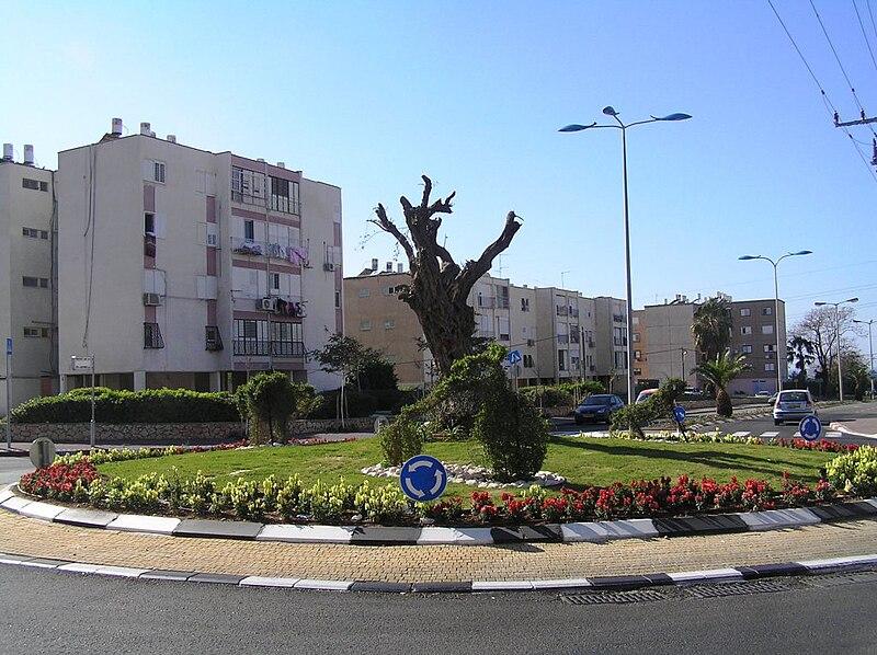 כיכר ברחוב זבוטינסקי