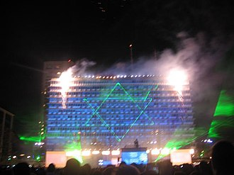 Independence Day (Israel) - Independence Day celebrations in Tel Aviv's Rabin Square, 2008