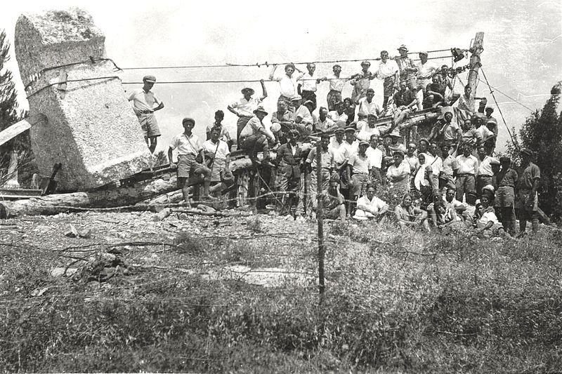 גן-שמואל-תל-חי-האריה השואג 1931