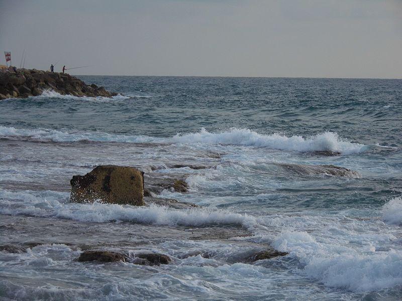 גלים בים התיכון