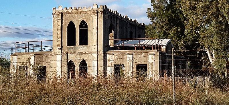 בית הבטון הראשון בארץ ישראל