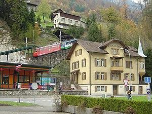 Alpnach - Image: Pilatusbahn