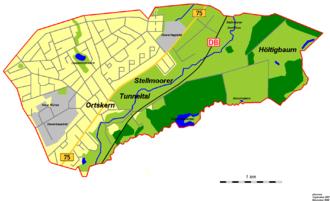 Karte Hamburg Farmsen Und Hotels