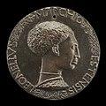 Pisanello, Leonello d'Este, 1407-1450, Marquess of Ferrara 1441 (obverse), c. 1440-1444, NGA 44324.jpg