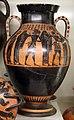 Pittore di princeton, anfora attica con partenza di guerrieri, 540-530 ac. ca., dalla tomba dei vasi greci alla banditaccia 01.jpg