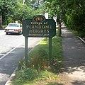 Plandome Heights 1929 sign jeh.jpg
