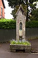 Planted water trough in Devizes - geograph.org.uk - 1845718.jpg