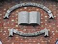 Plaque, Sabbath School, Armagh - geograph.org.uk - 623790.jpg