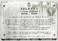 Arletty Wikipedia