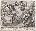 Plate 112- Agamemnon Sacrificing Iphigenia (Iphigenia Agamemnoni immolanda, à Diana (cerva eius in locum substituta) surripitur), from Ovid's 'Metamorphoses' MET DP866559.jpg
