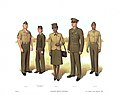 Plate II, Enlisted Service Uniforms - U.S. Marine Corps Uniforms 1983 (1984), by Donna J. Neary.jpg