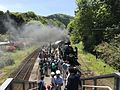 Platform of Niho Station from overpass.jpg