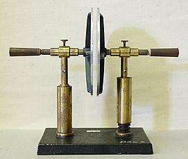 Plattenkondensator hg