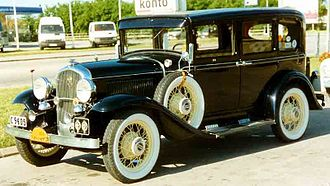History of Chrysler - 1931 Plymouth