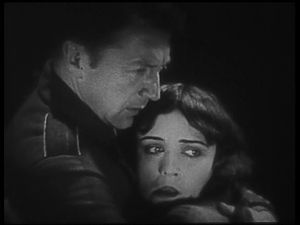 Barbed Wire (1927 film) - Pola Negri and Clive Brook