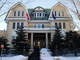Canada–Poland relations - Image: Poland, Ottawa