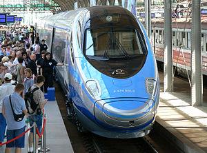PKP Intercity - A PKP Intercity ED250 Pendolino at Wrocław Main Station