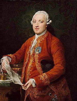 José Moñino, 1st Count of Floridablanca - José Moñino, conde de Floridablanca by Pompeo Batoni