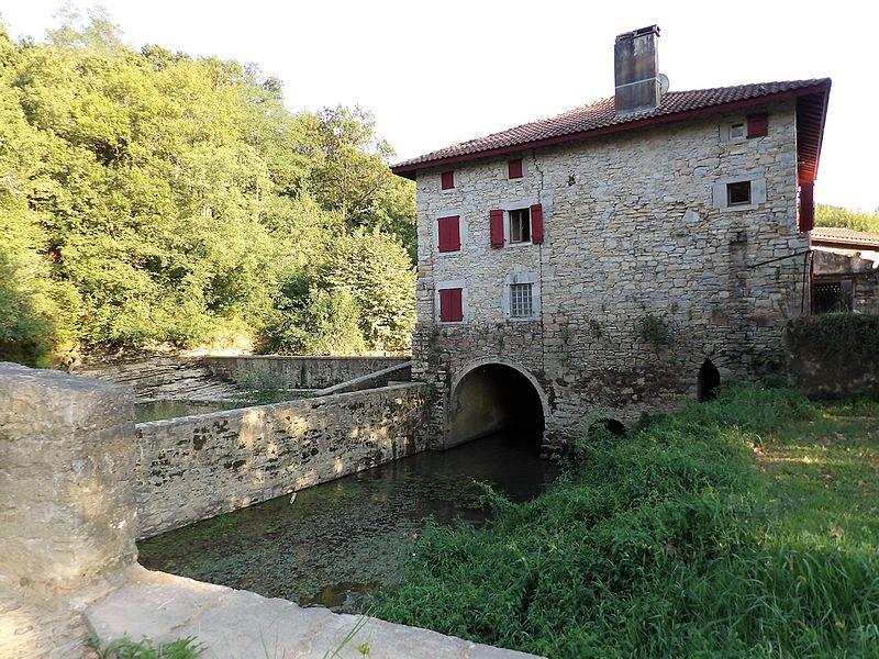 Pont de Gramont et Moulin de Heugas