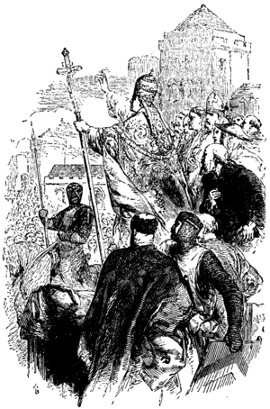 Extraordinary Popular Delusions and the Madness of Crowds - Pope Urban II advocating the First Crusade, one of Mackay's subjects