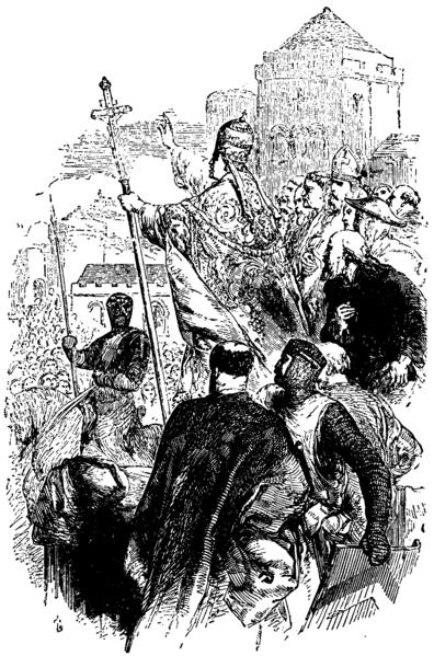 File:Pope Urban II Preaching the First Crusade.png