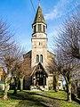 Porche et clocher de l'église de Chagey.jpg