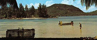 Port Glaud - A locality in the Port Glaud district - early 1970s