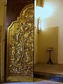 Porta barroca procedent de la cartoixa de Valldecrist, museu catedralici de Sogorb.JPG